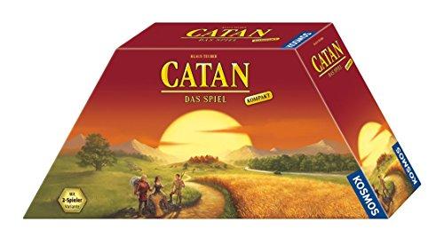 KOSMOS 693138 - CATAN - Das Spiel Kompakt, Strategiespiel