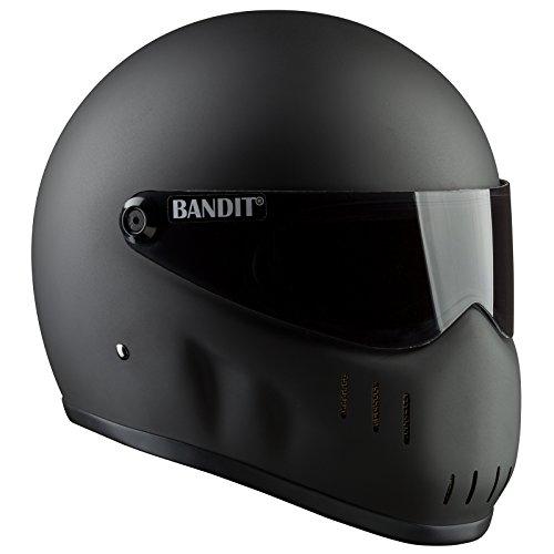 Bandit Helmets XXR für Streetfighter,geringer Luftwiderstand,Top Speed, Größe:XL (61-62), Farbe:Mattschwarz