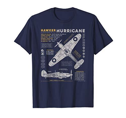Hawker Hurricane | Battle of Britain WWII RAF Fighter Plane T-Shirt