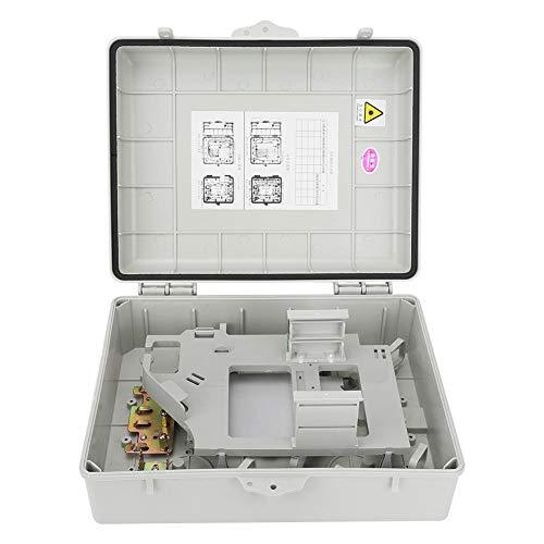 Caja de terminales óptica resistente al polvo, caja de terminación, industria de fábrica de equipos de división óptica de gran espacio para colocar división de fibra