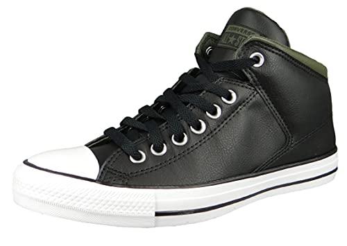 Converse Herren High Sneaker Chuck Taylor All Star High Street 171374C Schwarz, Groesse:41 EU