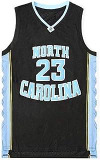 JAG Michael Jordan 23# Baloncesto Jersey Vintage Bordado Uniforme, University of North Carolina Traje NCAA Camiseta sin Mangas Unisex Swingman XS -XXL