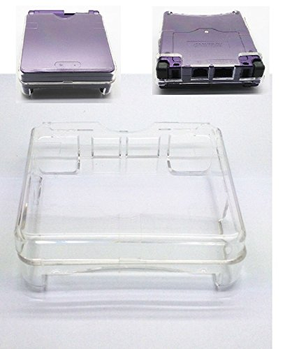 New Upper and lower lid Plastic Protective Cases For Nintendo GBA SP Gameboy Advance Sp Console-Clear White