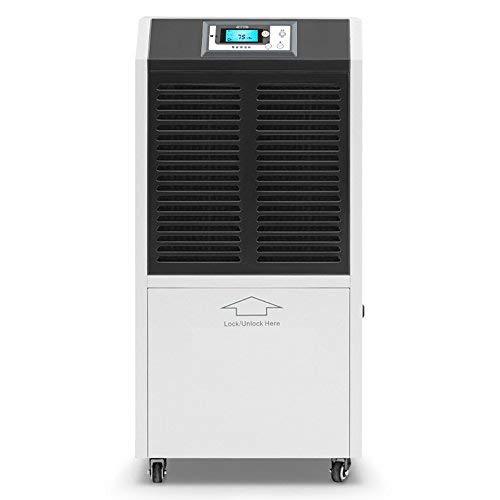 Déshumidificateur commercial portable DOROSIN 120 pintes (18 gallons) CD070 pour espace jusqu'à 1500 pieds carrés, vidange par tuyau ou réservoir d'eau