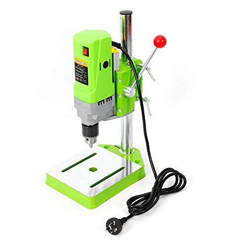 Sale!! Floor Drill Press Stand Table Electric Power Drill Press Stand Table Rotary,710W Electric Ben...