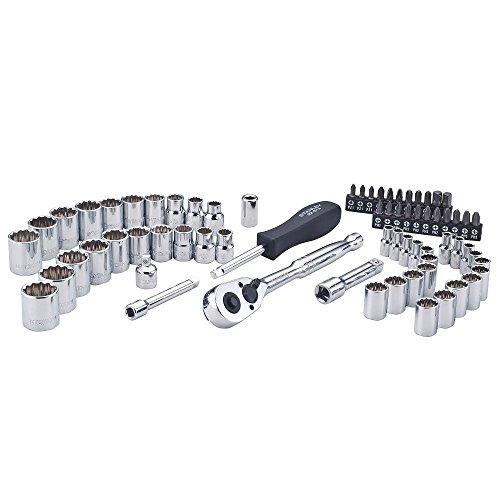 Stanley STMT74859 68-Piece 1/4 in., 3/8 in. Drive Mechanics Tool Set