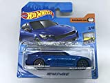 2020 Hot Wheels 2019 Kia Stinger GT Metallic Blue 3/10 Factory Fresh 198/250 (tarjeta corta)