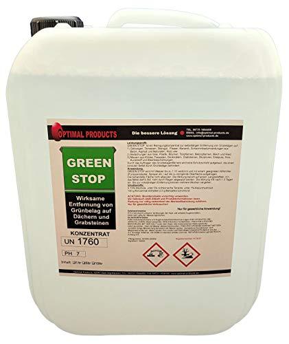 Optimal Grünbelagentferner Steinreiniger Konzentrat 10 Liter selbsttätig