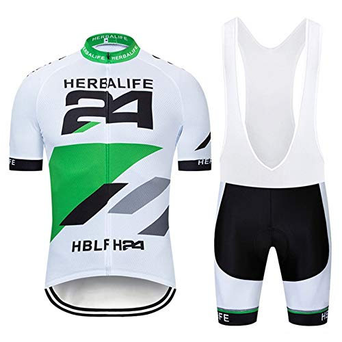 Maillot Ciclismo Hombre Ropa Ciclismo y Culotte Pantalones Acolchado 3D para Deportes...