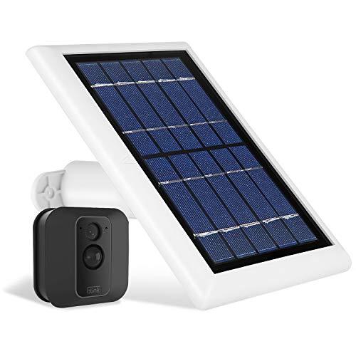 Wasserstein Solarmodul kompatibel mit Blink XT und Blink XT2 Außenkamera (weiß)