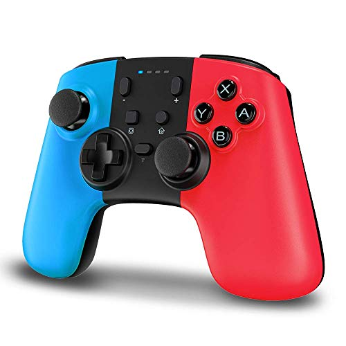 STOGA Controlador para Nintendo Switch, Bluetooth Switch Pro Controller con batería Recargable, Mando a Distancia con Turbo y Dual Shock Joystick