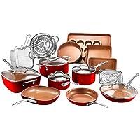 20-Piece Gotham Steel Cookware & Bakeware Set with Nonstick Coating