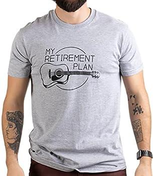 My Retirement Plan  Guitar  | Funny Music Musician Humor Men Women Joke T-Shirt- Adult,L