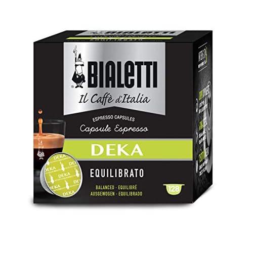 Bialetti Caffè d'Italia Deka (Gusto Equilibrato) - Multipack 128 Capsule