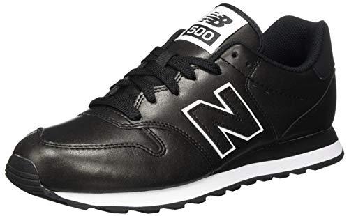 New Balance 500', Zapatillas para Mujer, Negro, 41.5 EU