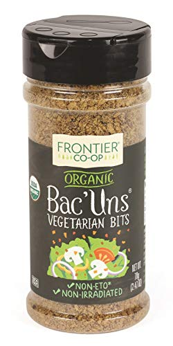 Frontier Vegetarian Bits Bac'uns Certified Organic, 2.47-Ounce Bottle