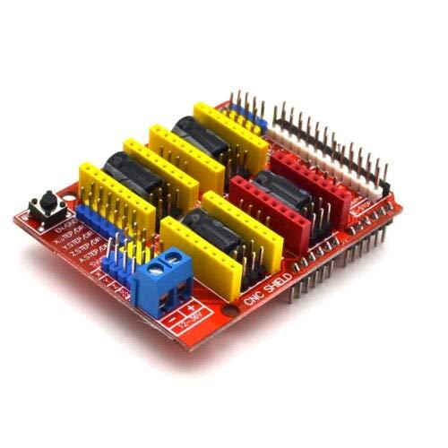 Seazoon V3 Engraver Shield 3D-Drucker CNC Expansion Board A4988 Driver Board für Arduino #S21