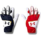 Under Armour Boys' Youth Clean Up 19 - Culture Baseball Glove, White (103)/Midnight Navy, Youth Medium