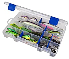 SMART DIVIDER SYSTEM: This tackle storage box offers customization options with 12 adjustable dividers that can create up to 24 different compartments. This ensures quick compartmentalization of your storage space. ZERUST ANTI-CORROSION TECHNOLOGY: E...