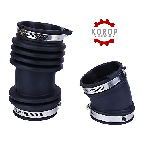 KOROP Air Intake Cleaner Hose Replaces# 16576-CG000 Fits for Infiniti FX35 2003 2004 2005 2006 2007 2008, Fresh Intake Boot Tube Duct 16576CG000