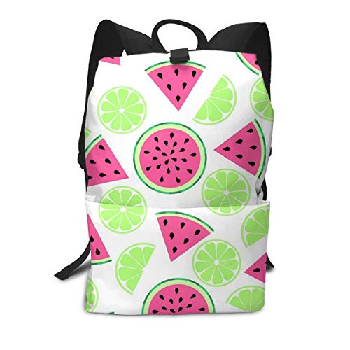 Homebe Lemon Cyan Watermelon Cute Rucksäcke,Daypack,Schulrucksack Für Jungen und Mädchen School Travel Hiking Small Gym Teen Little Girls Youth Boy Women Men Kids Backpack Mini Book Back Bag Bookbag