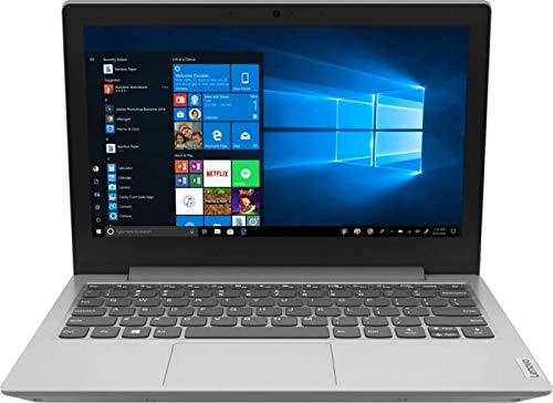 Lenovo Slim (11,6 Zoll HD+ matt) Laptop (AMD A6-9220e DualCore, 4GB DDR4 RAM, 64GB Flash SSD, AMD Radeon R4, WLAN, Bluetooth, HDMI, USB 3.0, Windows 10 S) grau