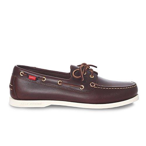 Slam Shoe Prince Evo Scarpa da Barca in Cuoi Suola Antiscivolo (40)