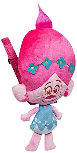 Sambro tro-8247–2Trolls Poppy Head Peluche Zaino
