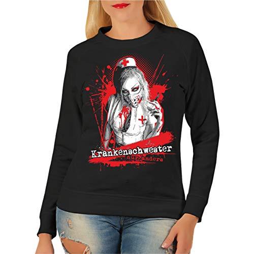 Spaß kostet Frauen und Damen Sweatshirt Krankenschwester NUR Anders Größe XS - XXXL