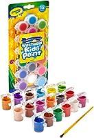 Crayola Pinturita Escolar Lavable, 88 mm, Paquete de 18