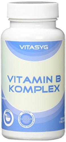 Vitasyg Vitamin B Komplex - 365 Tabletten (Jahresvorrat), 1er Pack (1 x 91g)