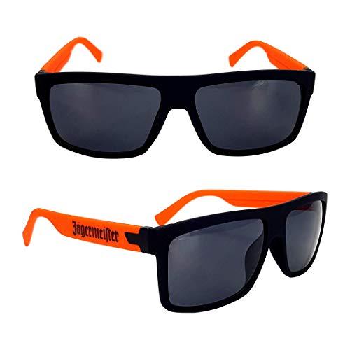 Jägermeister glas / glazen bril nerdbril oranje gastro bar decoratie + flessenschenktuit