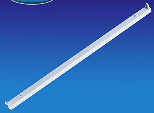 Porta Lampada Plafoniera Singolare Per Tubo Neon T8 a Led Da 90cm