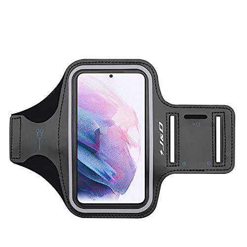 JundD Kompatibel für Vivo Y70/Vivo X51 5G/Vivo Y20s Armband, Sportarmband für Vivo Y70, Vivo X51 5G, Vivo Y20s Running Armband, Zusätzliche Tasche für Schlüssel, Blau