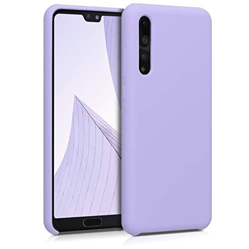 kwmobile Custodia Compatibile con Huawei P20 PRO - Cover in Silicone TPU - Back Case per Smartphone - Protezione Gommata Lavanda