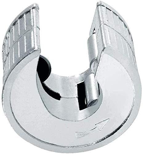 Cortatubos rápido, FayTun 28mm cortatubos de cobre con trinquete, cortatubos de cobre de alto rendimiento con cuchilla de corte de repuesto, autoblocante