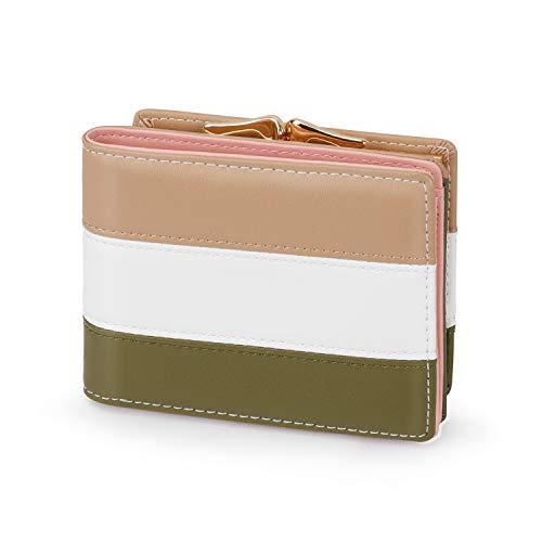 Pomelo Best dames portemonnee met muntvak, meerkleurig, kleine portemonnee