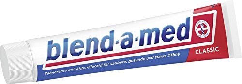 test Blend-a-med 12x Classic, Zahnpasta – 75 ml Deutschland