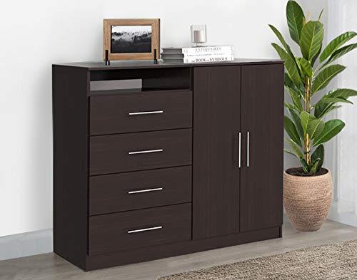 cómoda madera de la marca Mobi Muebles para tu Vida