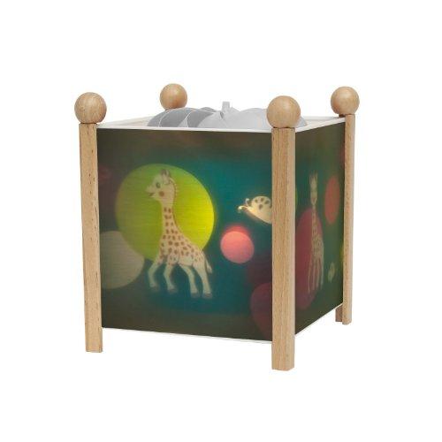 Trousselier–Nachtlicht–Magische Laterne Sophie die Giraffe–Farben zur Auswahl
