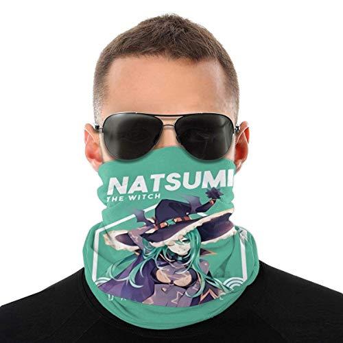 AOOEDM Bandanas cara para hombres mujeres antipolvo Natsumi Date A al aire libre, festivales deportivos, polaina de cuello, pasamontañas transpirable