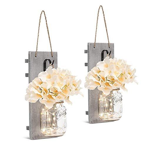 Hängendes Licht Cafe Bar Wandlampen Einweihungsparty Schlafzimmer Wohnkultur Hochzeitsgeschenke Rustikales Einmachglas Schöne Fee Mit ume