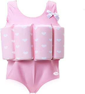 Lemandii One-Piece Children Buoyancy Swimsuit Swim Vest Detachable Float Swimwear, Perfect for Kids or Baby Learn to Swimming