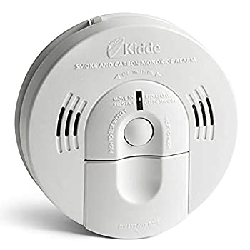 Kidde Smoke & Carbon Monoxide Detector Hardwired Interconnect Combination Smoke & CO Alarm with Battery Backup Voice Alert