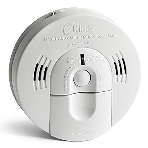 Kidde KNCOSMIBA Hardwire Combination Smoke Carbon Monoxide Detector Battery Backup Voice Warning Interconnectable