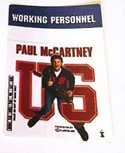2005 Paul Mccartney Backstage Pass U.s. Tour Beatles Dark Blue Working
