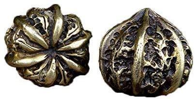 QJL_ANA El Cobre sólido Puro de la Nuez Pelota de Ejercicio Crafts Wenwan Nuez Mano Juego Adornos Balonmano Antiguo de la Bola de la Salud