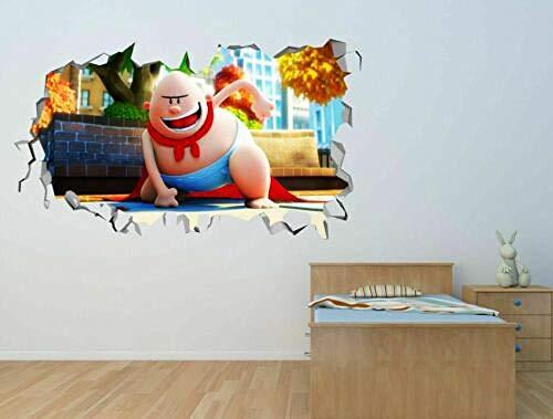 Pegatinas de pared Calcomanía de pared personalizada de la ventana de la película de las bragas arte de la etiqueta engomada de la pared 3d