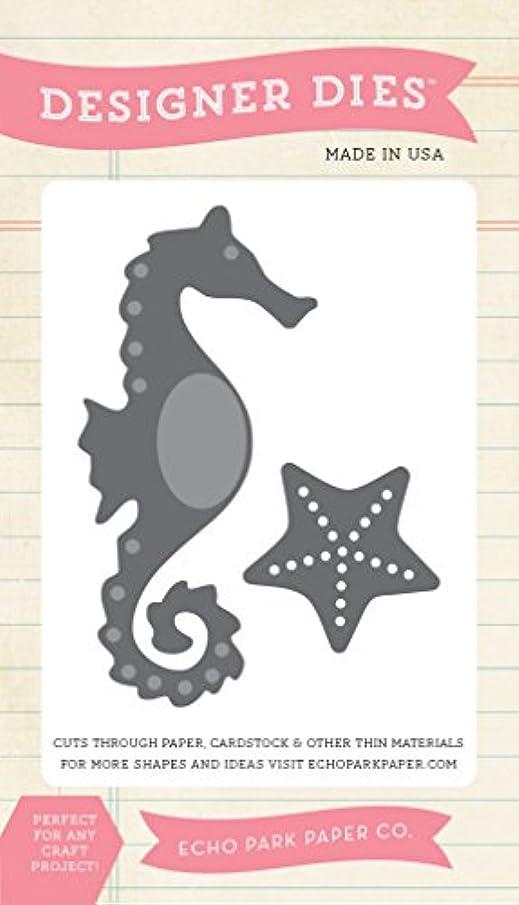 Echo Park Paper Company Seahorse Die Cut