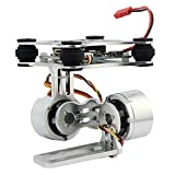 Generic Aluminum 2-Axle Brushless Gimbal Camera Mount Controller Plug&Play for DIY Drone Quadcopter